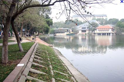 Ho Thien Quang lake - Hanoi
