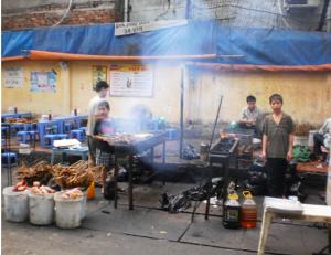 Hanoi's BBQ Chicken Street